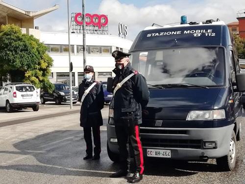 Rieti, i Carabinieri intensificano i controlli