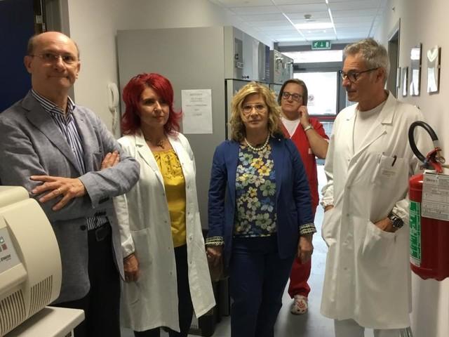 """""""No a declassamento ospedale"""", Stirati incontra operatori del Laboratorio Analisi"""