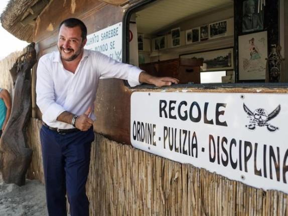 Paura odio vanità: Mussolini fa rima con Salvini