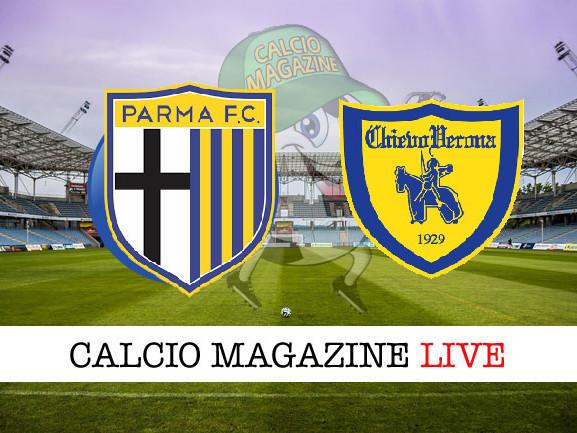 Parma – Chievo: cronaca diretta live, risultato in tempo reale