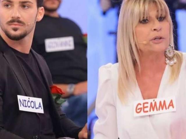 Uomini e donne, scontro Nicola-Gemma, lui sbotta: 'Sei una grandissima falsa'