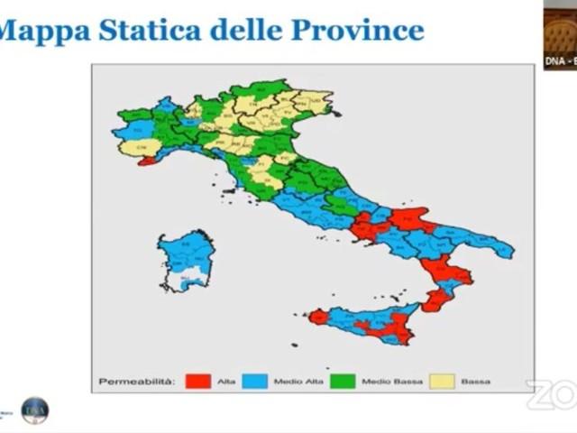 Mafie in tutta Italia, cresce contrasto: la classifica con Perugia e Terni