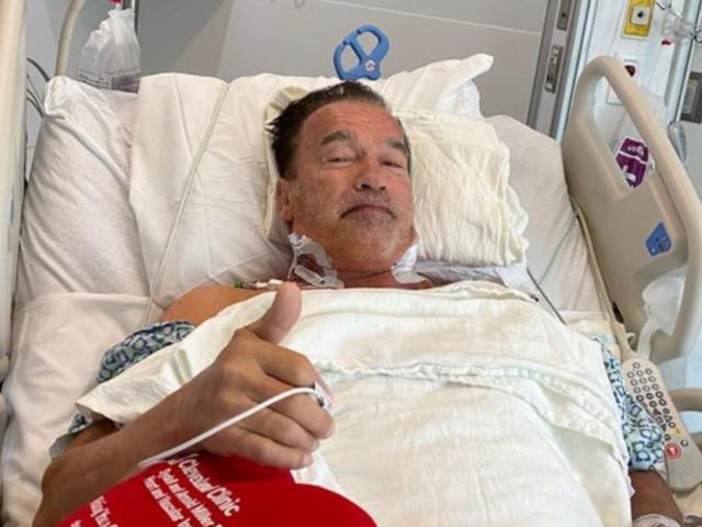 """Arnold Schwarzenegger operato al cuore: """"Ora sto benissimo"""""""