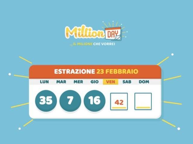 MILLION DAY/ Numeri vincenti: estrazione di oggi sabato 17 ottobre 2020