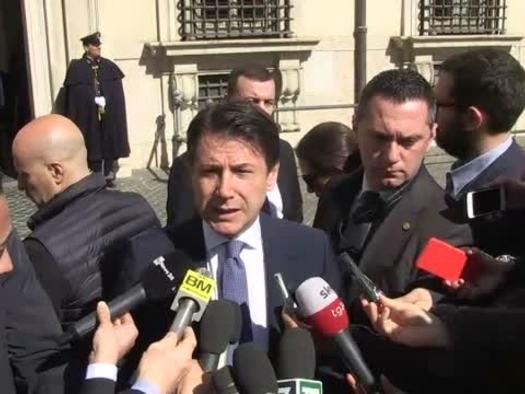 """Conte: """"firmiamo memorandum, accordo non vincolante"""""""