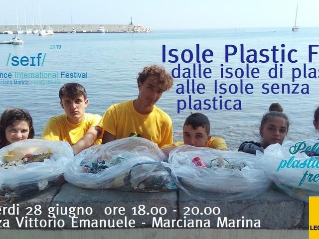 Il presidente nazionale di Legambiente all'Elba per le Isole Plastic Free