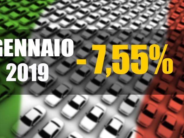 Mercato italiano - Il nuovo anno parte con una brusca frenata