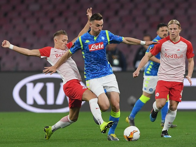 Il Napoli spazza via il Salisburgo: secco 3-0 e quarti di finale ipotecati