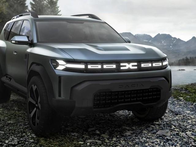 Dacia - Svelata la Bigster Concept, il primo passo nel segmento C