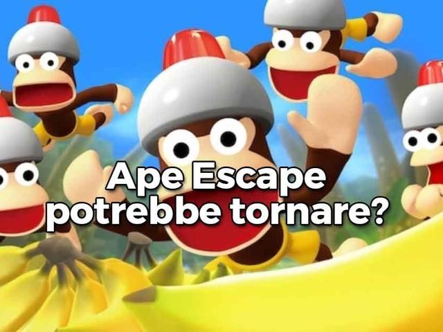 Ape Escape, lo storico platform di PlayStation, potrebbe tornare?