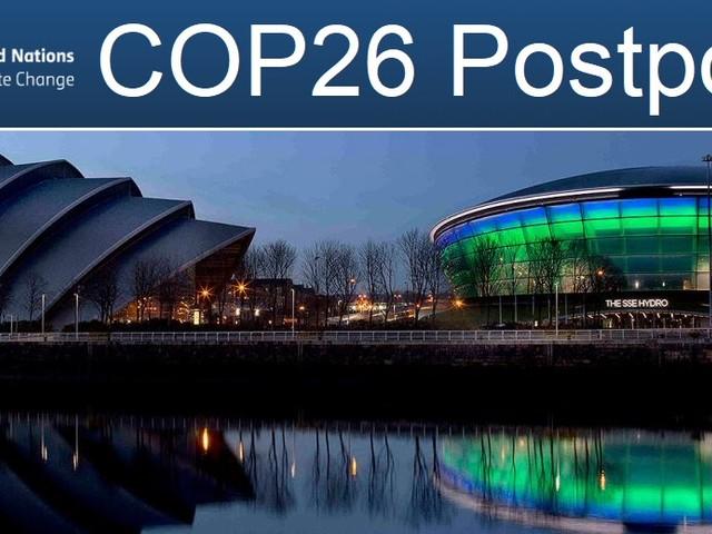 La Conferenza Onu sul clima rinviata per coronavirus. La Cop26 Unfccc si terrà nel 2021