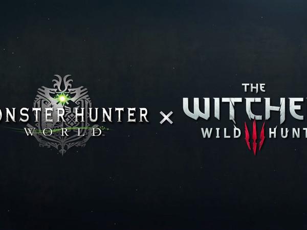 Annunciato un crossover tra Monster Hunter: World e The Witcher III