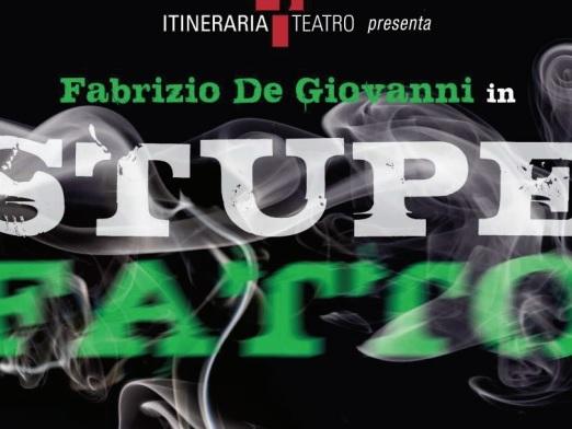 """""""Stupefatto"""", a teatro un'iniziativa per sensibilizzare i giovani sulle insidie della droga"""