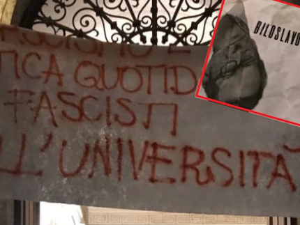 Bavaglio rosso in università. A Trento minacce e violenza