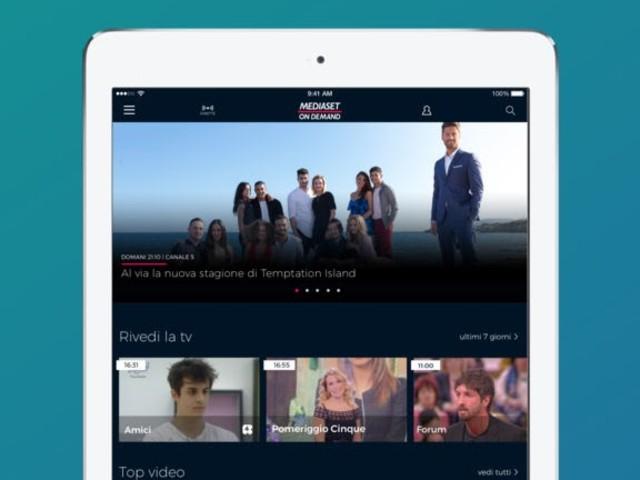 Mediaset On Demand, l'app si aggiorna alla vers 4.2.1