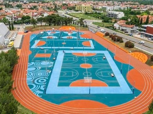 Inaugurato a Umago il nuovo Centro sportivo polivalente