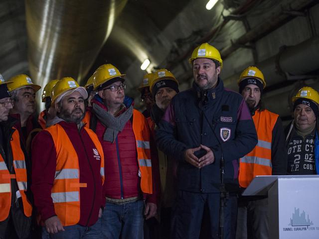 """Tav leggera, Salvini: """"No, a me piacciono i treni che corrono"""""""