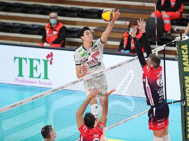 L'Itas Trentino Volley vola: battuta Piacenza, è il settimo successo di fila