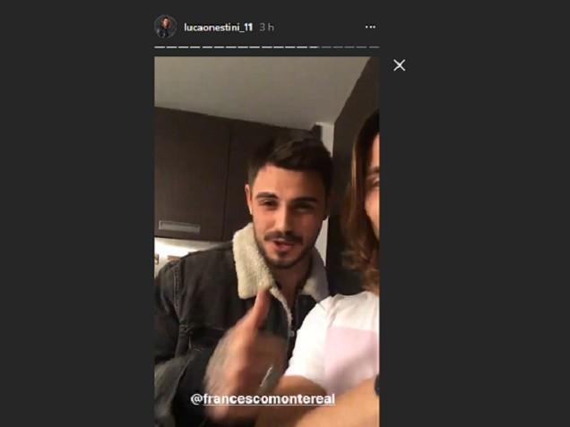 Luca Onestini Instagram, pace fatta con Francesco Monte: cena insieme ad Ivana Mrazova