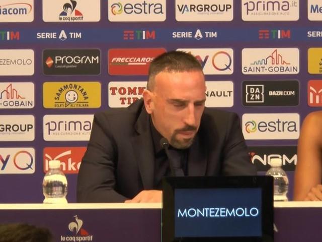 """Ribery: """"Qui per la Fiorentina, non per competere con CR7"""""""