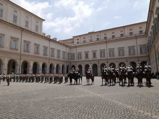 Italia-Tunisia, Mattarella riceve Saied al Quirinale