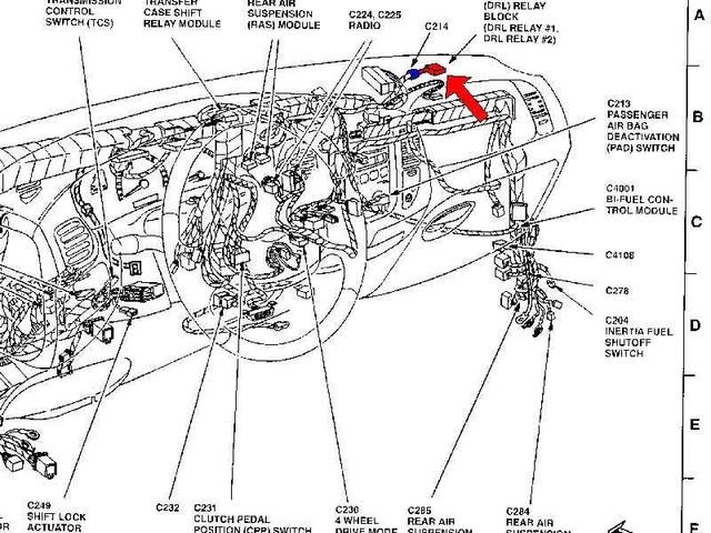 Ford Escape Transmission Wiring Diagram