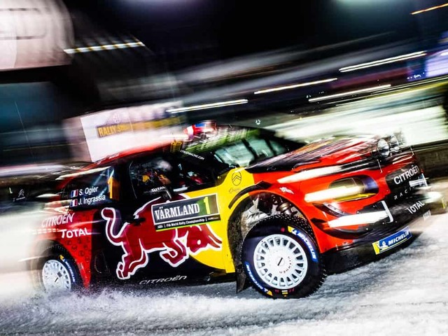 Rally di Svezia: Ogier fa gioco di squadra. Tanak davanti