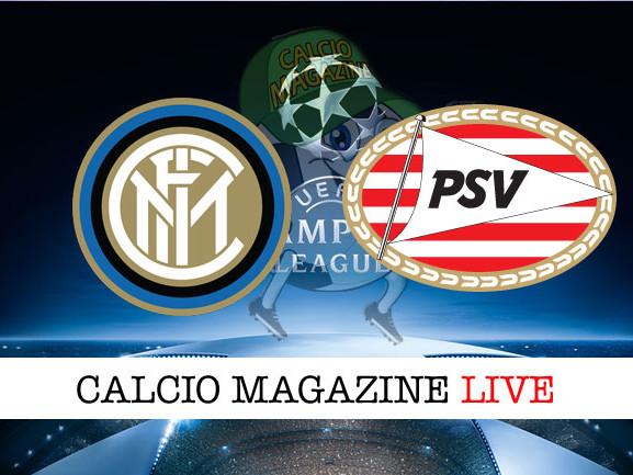 Inter – PSV: cronaca diretta live, risultato in tempo reale