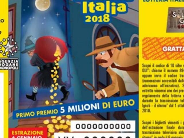 Premi Lotteria Italia 2018-19: diretta su Raiuno e verifica online dei tagliandi vincenti