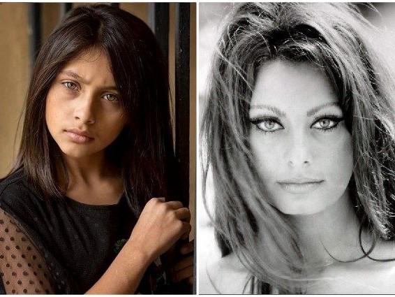 """La piccola Lila de """"L'amica geniale"""" fa gli auguri di compleanno a Sophia Loren"""