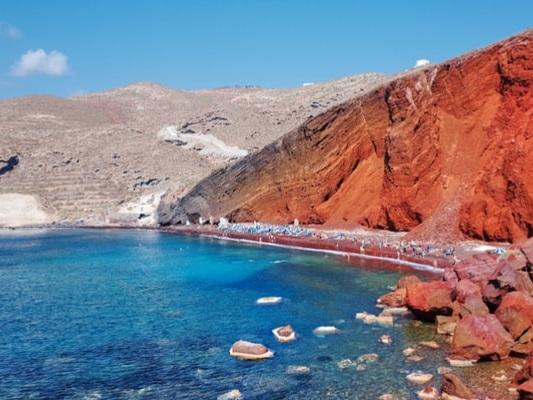 Le più belle spiagge di Santorini. Guida con Foto
