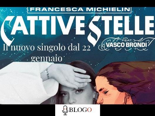Cattive stelle, Francesca Michielin feat. Vasco Brondi: il nuovo brano dal 22 gennaio 2021