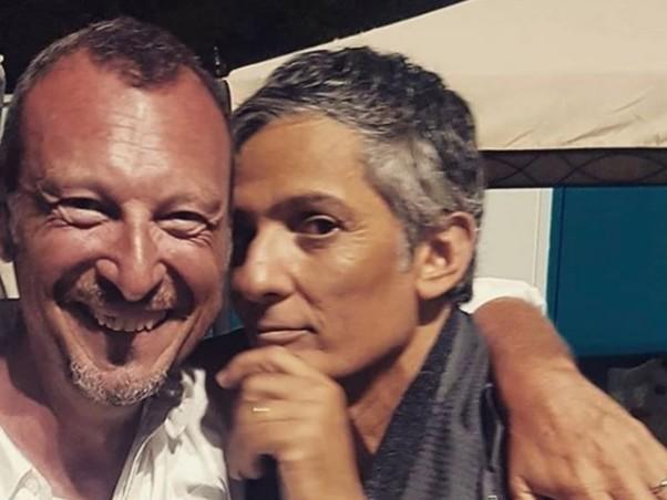 """Fiorello chiama Amadeus in diretta: """"Madonna a Sanremo? Per carità"""""""