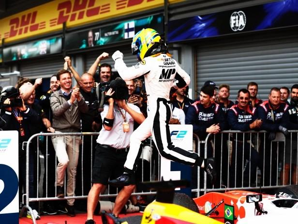 Formula 2 SPA, gara 2: Camara vince con safety car