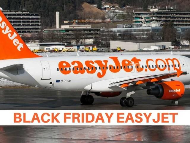 Black Friday easyJet: voli scontati fino al 30%