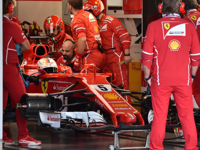 "La Ferrari ""like a candle in the wind"""