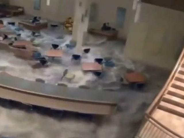 Alluvione a Catania, allagata la facoltà di Chimica all'Università | video