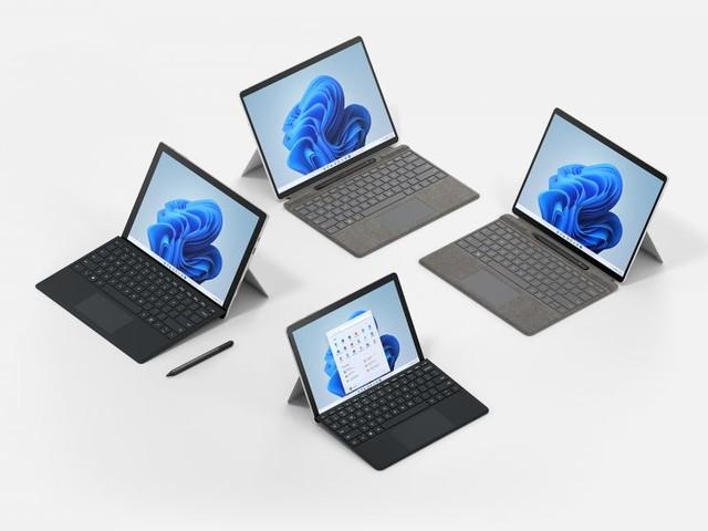 Microsoft Surface: Svelata la nuova lineup di dispositivi progettati con il nuovo sistema operativo Windows 11