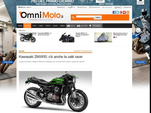 Kawasaki Z900RS: c'è anche la café racer