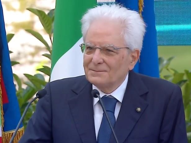 """Italia campione al Quirinale, Mattarella: """"Vialli ha espresso in tv i nostri sentimenti"""""""