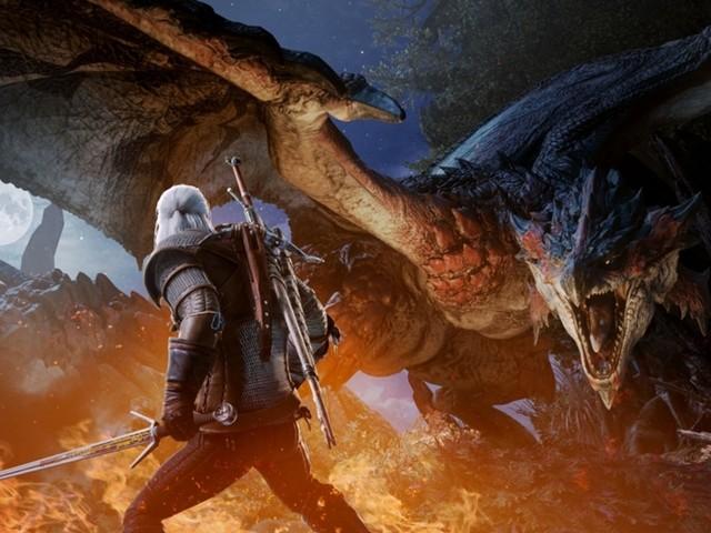 Geralt va a caccia di mostri: il nuovo evento di Monster Hunter World è dedicato a The Witcher
