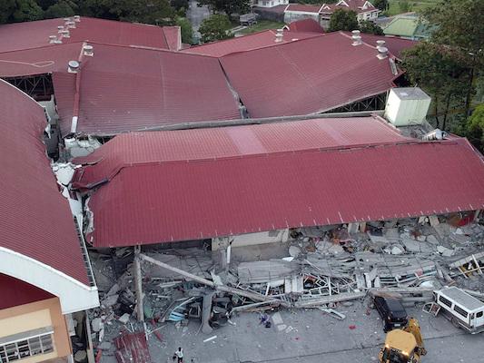 C'è stata una nuova scossa di terremoto nelle Filippine, di magnitudo 6.3