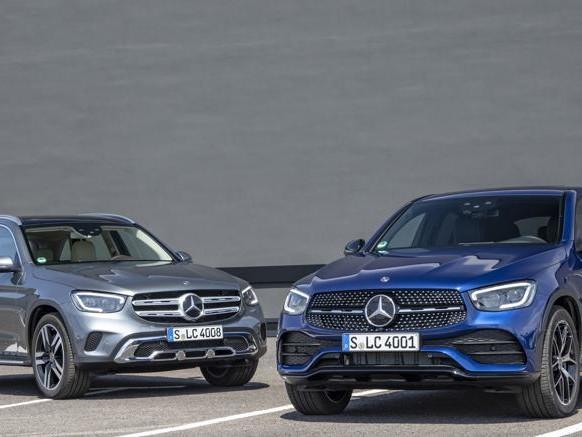 Mercedes-Benz GLC, al volante del restyling