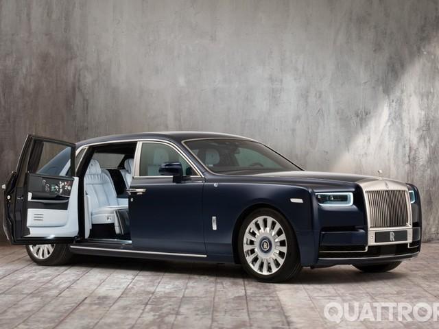 Rolls-Royce - Rose Phantom, la one-off è floreale