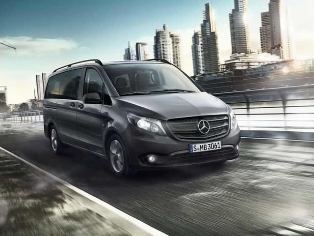 Mercedes Metris, nuovo cambio automatico e 208 CV di potenza