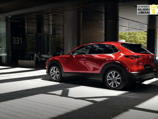 Mazda CX-30: il premio Golden Steering Wheel 2019 per la nuova crossover