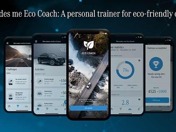 Mercedes me Eco Coach: un personal trainer per guidare in maniera efficiente
