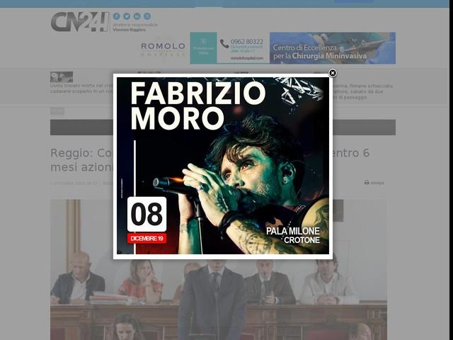 Reggio: Consiglio delibera emergenza climatica, entro 6 mesi azioni integrate a favore dell'ambiente