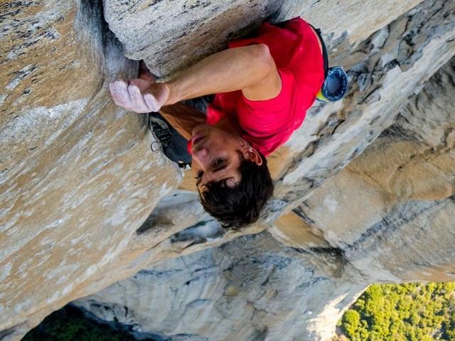 Free Solo, l'impresa del climber in un film da Oscar