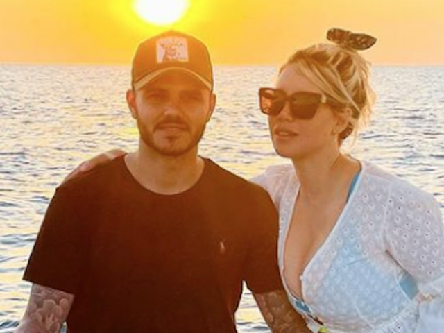 Icardi e Wanda, vacanza romantica a Zanzibar. Scatto al tramonto per la coppia